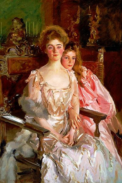 s-『フィスク・ウォレン夫人と娘レイチェル』ジョン・シンガー・サージェント1903.jpg