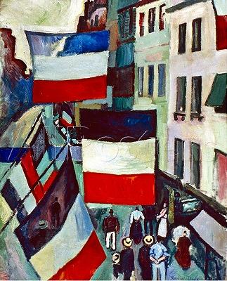 s-旗で飾られた通り ラウル・デュフィ 1906.jpg